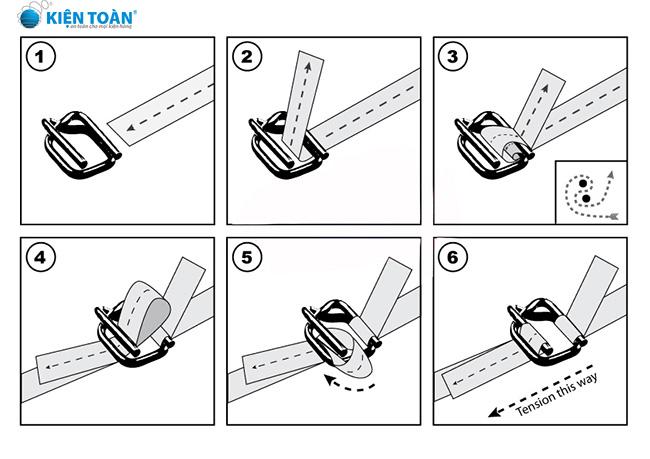 Cách sử dụng dây đai composite sao cho hiệu quả